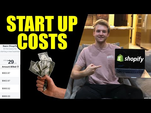 2019/2020 Shopify Dropshipping STARTUP COSTS (From A Pro)
