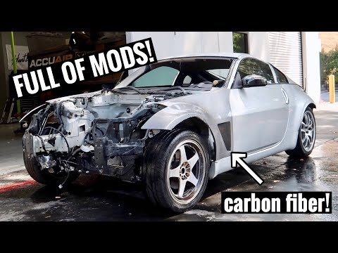 Buying a 350z from a junkyard!