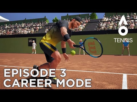 AO TENNIS | CAREER MODE #3 | TUVALU ROUND 1 & 2!
