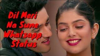 Dil Meri Na Sune Whatsapp Status - Genius  | Atif Aslam | Himesh Reshmmiya | Lyrics Song