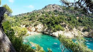 Espagne - Costa Brava - Tossa de Mar - Camping Pola - GoPro