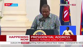 Presidential Address On COV D-19 In Kenya By President Uhuru Kenyatta Full Video