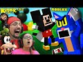 Cover image ROBLOX KITTY Chapter 2!  ESCAPE Mickey's CLUBHOUSE  FGTeeV Gameplay