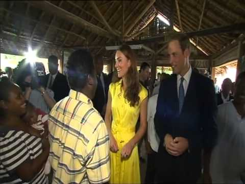 Royal couple see poverty and hope during visit to Solomon Islands