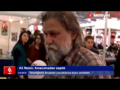 Ali Nesin: Amacımızdan saptık