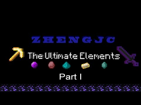 An Intro to my minecraft mod: The ultimate elements