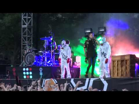 Twenty One Pilots - Lane Boy Video Footage - Live At Bunbury Music Festival In Cincinnati, OH 6-7-15