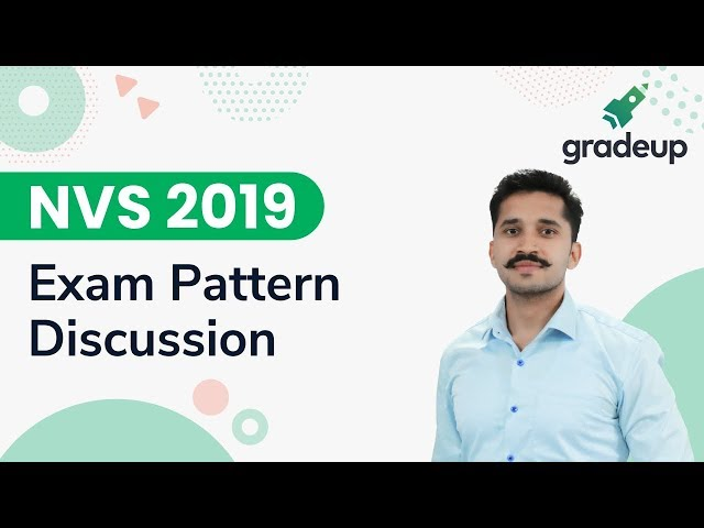 NVS 2019 Exam Pattern discussion