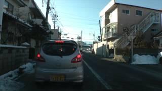 塩尻インター〜塩尻西小学校(2015年2月3日)