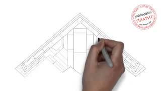 Как легко нарисовать самолет(Как нарисовать самолет поэтапно простым карандашом за короткий промежуток времени. Видео рассказывает..., 2014-06-25T14:15:46.000Z)