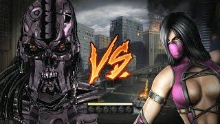 Mortal Kombat 9 Fatalities Terminator
