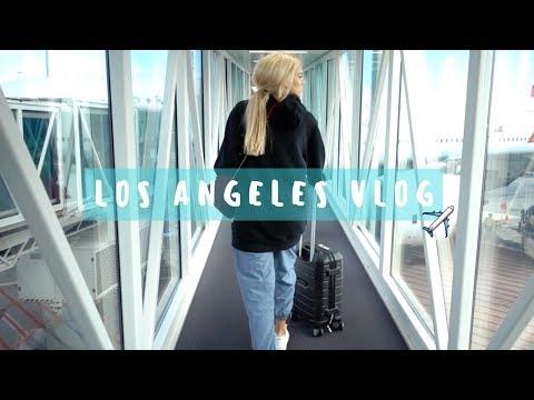 Los Angeles TRAVEL VLOG   Chloe Szep