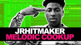 JRHITMAKER Makes An Uptempo Melodic Beat From Scratch In FL Studio 20 🔥