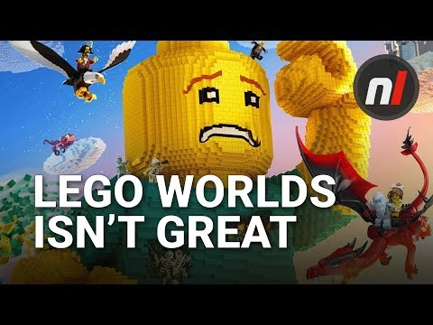 LEGO Worlds on Switch Isn't Exactly a Minecraft Beater | Soapbox
