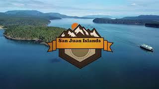 San Juan Islands Aerial Vacation