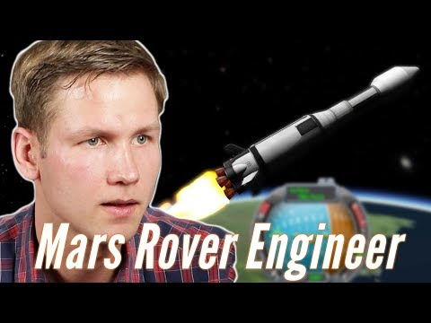 Mars Rover Engineer Builds A Rocket To Mars In Kerbal Space Program • Pro Play
