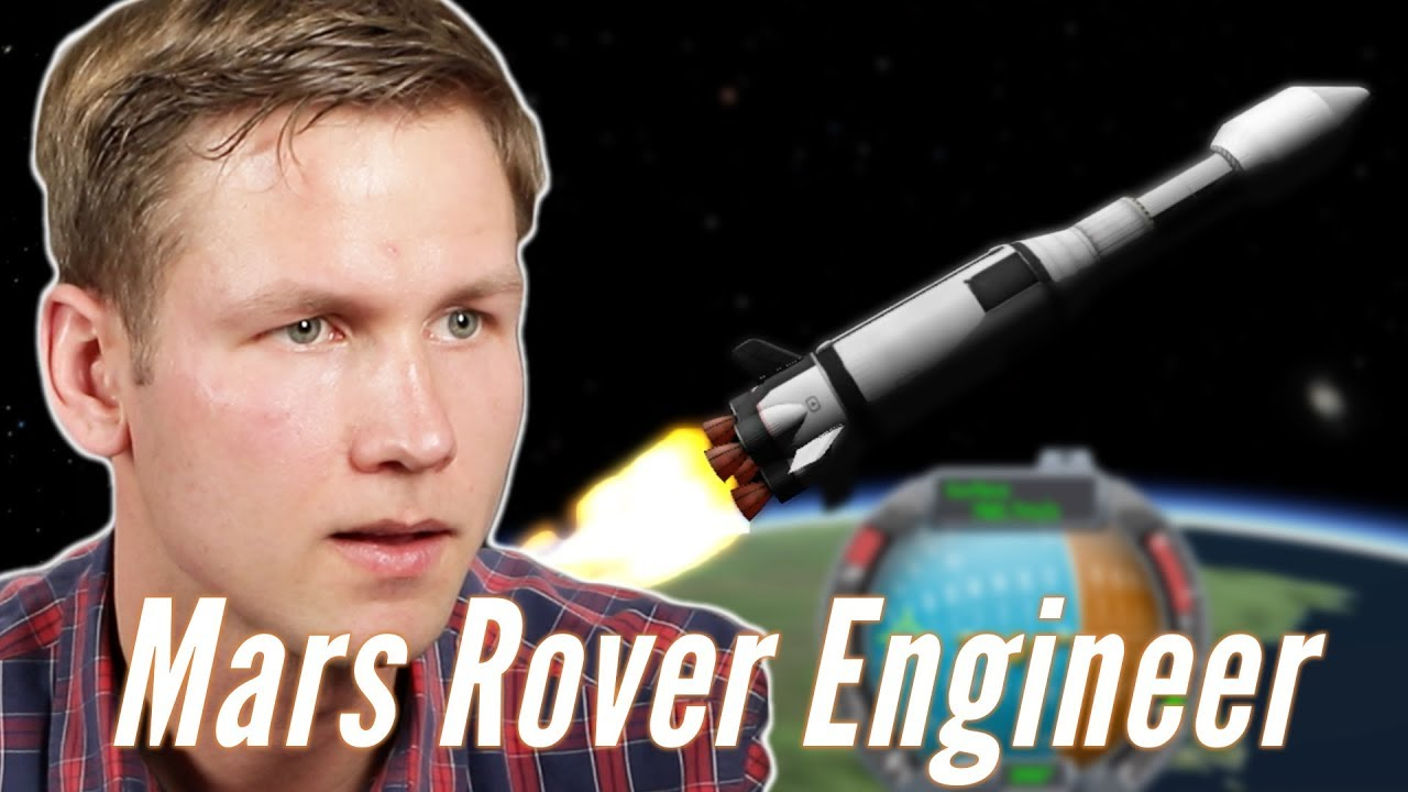Download Real Mars Rover Engineer Builds A Mars Rover In Kerbal Space Program • Professionals Play