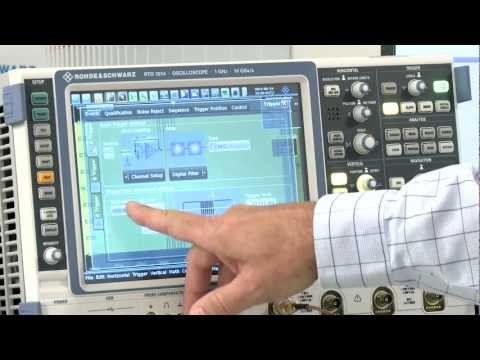 RF measurements for near field communication (NFC) with Rohde & Schwarz oscilloscopes