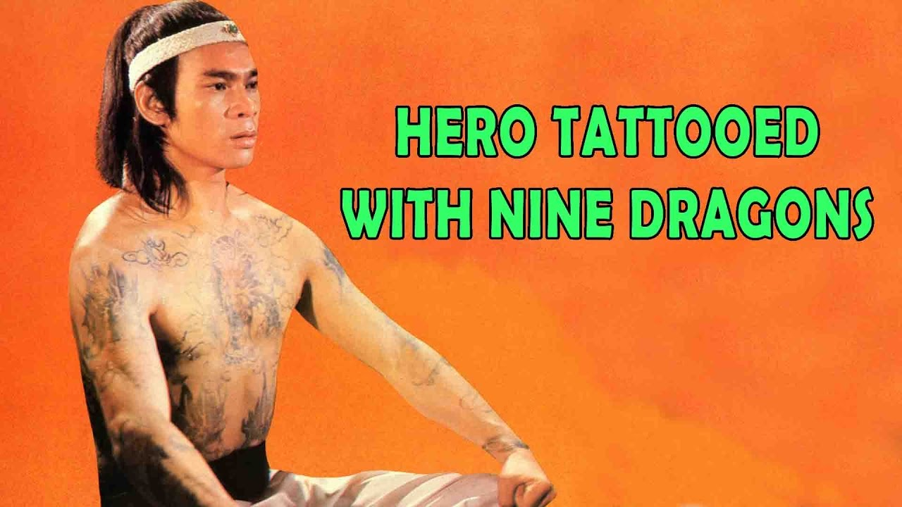 Wu Tang Collection - Hero tattooed with nine Dragons