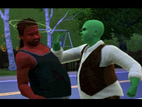 Shrek meets Dreck (Sims 3) - YouTube