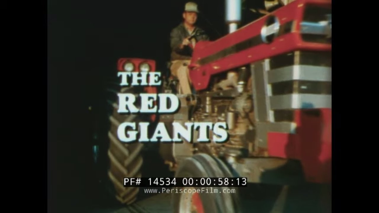 """Download MASSEY FERGUSON  MF 1100/1130 TRACTOR PROMOTIONAL FILM """"THE RED GIANTS"""" 14534"""