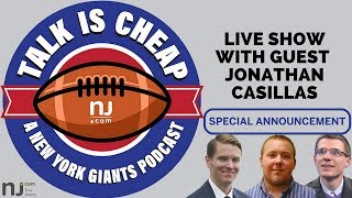 SPECIAL ANNOUNCEMENT: Live show of Giants podcast 'Talk is Cheap'