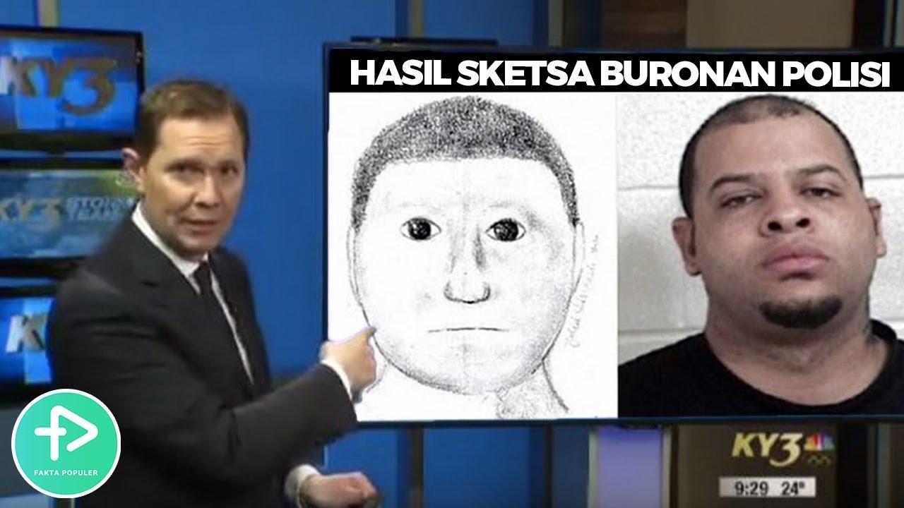 Begini Jadinya Ketika Polisi Buru Buru Membuat Sketsa Wajah