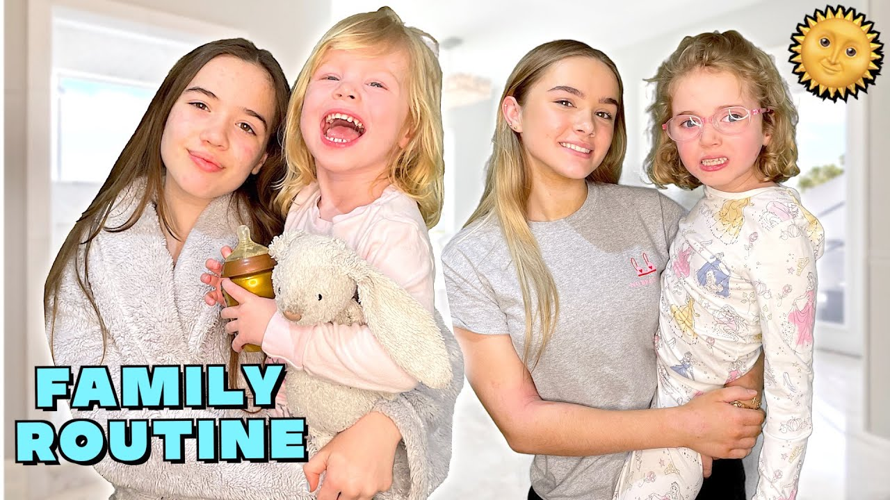 NEW FAMILY MORNING ROUTINE! ☀️ *New Office & Gym Reveal!