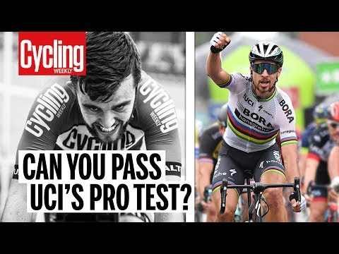 Can you pass UCI's pro test? | Cycling Weekly