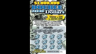 $5 - DOUBLE SIDED DOLLARS WIN!  NYS Lottery Scratch Off instant! NEWER TICKET WIN!