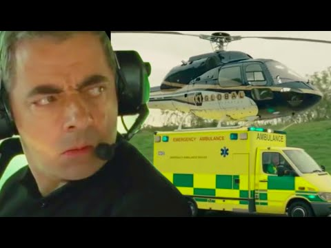 Helicopter EMERGENCY | Johnny English | Funny Clips | Mr Bean Comedy