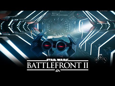 Star Wars Battlefront 2 - NEW MULTIPLAYER GAMEPLAY! Space Battles Starfighter Assault!