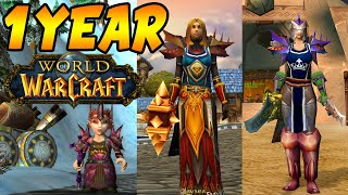 I Played Classic WoW NON STOP for Over 1 Year | This Is What I Have Done - Classic World of Warcraft