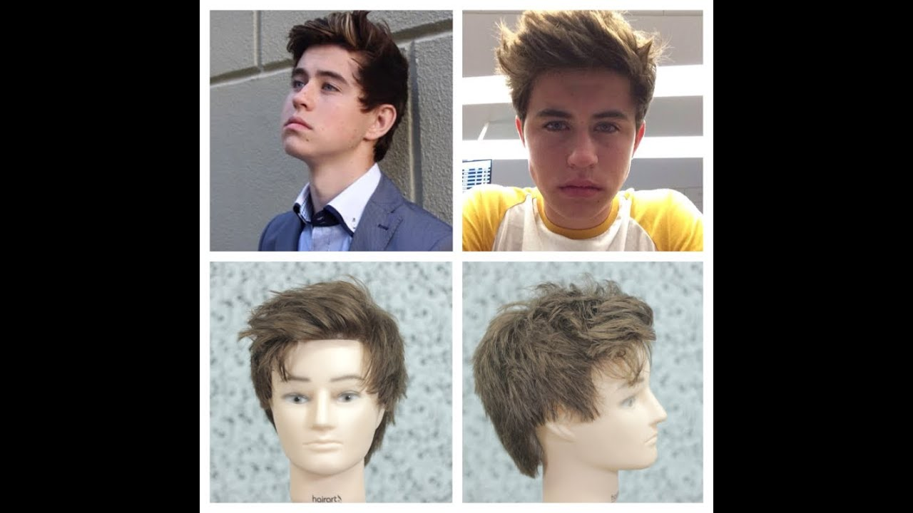Nash Grier Haircut Amp Hairstyle Tutorial Youtube