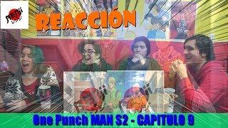 Reacción One Punch Man S2   Cap 9  Saitama Se Aburre De Ser Heroe    Los Consejos De King