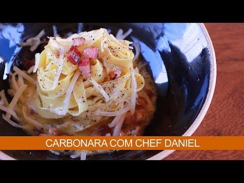 CARBONARA COM CHEF DANIEL