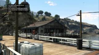 Grand Theft Auto V - Michael Purchases Sonar Collections Dock 250,000 / 23,000, Submersible Unlocked