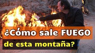 Fuego ARDE naturalmente de la montaña (NO ES CLICKBAIT) | 🇦🇿 AZERBAIYÁN #3