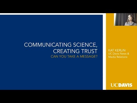 Scientists for Public Engagement And Knowledge (SPEAK) - Science Messaging