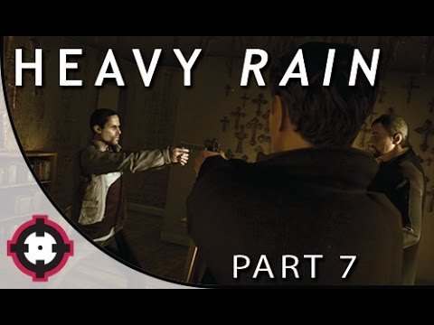 Heavy Rain Blind Let's Play Gameplay PS4  // Part 7 - To Kill or Not to Kill? (w/ a Special Guest!)