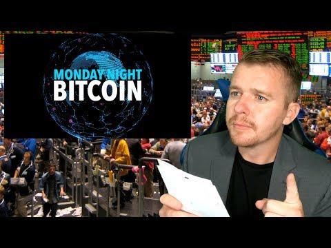 Monday Night Bitcoin! LATE BREAKING NEWS!