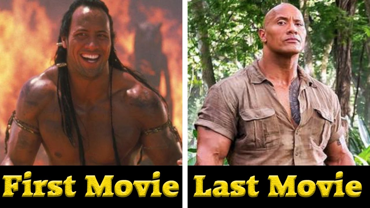 Dwayne johnsonthe rock all movies 2001 2017 youtube dwayne johnsonthe rock all movies 2001 2017 m4hsunfo