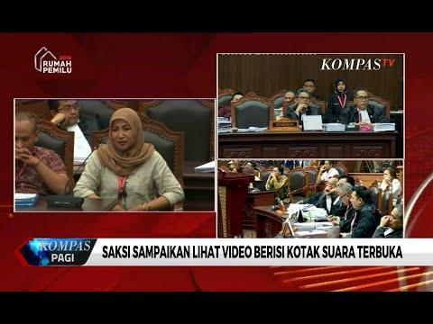 Saksi Tim Prabowo Mengaku Lihat Video Berisi Kotak Suara Terbuka