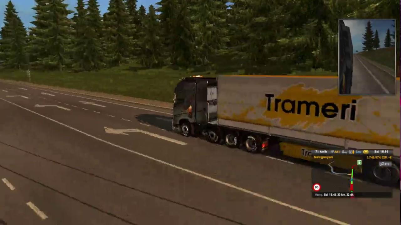 Euro Truck Simulator 2 Multiplayer Bölüm 1