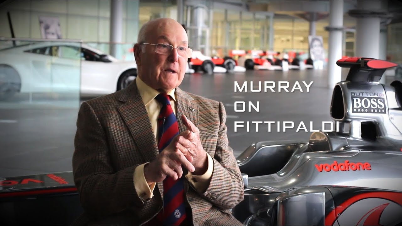 MURRAY WALKER ON FITTIPALDI: the Emmo years