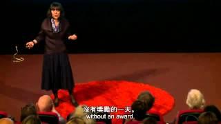 TED 中英雙語字幕:  相信你能進步的力量