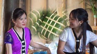 Bánh Chưng Bánh Dày   Giỗ Tổ Hùng Vương   món Ngon Đặc biêt Biệt Của Cô Gái Sơn Cước   Thôn Nữ