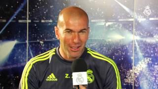 Zidane analiza el próximo partido ante la Real Sociedad