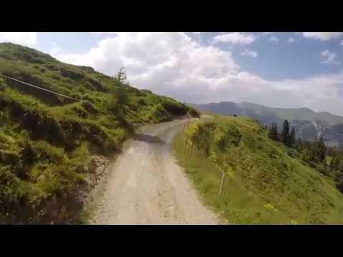 Prätschalp (Arosa)-Ochsenalp-Tschiertschen Mountainbike Downhill-Ride