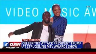 Celebrities Attack President Trump at Struggling MTV Awards Show
